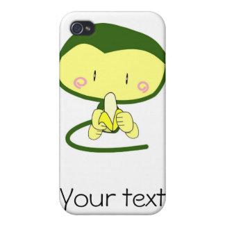 Green monkey cartoon iPhone 4 Speck case iPhone 4 Cases