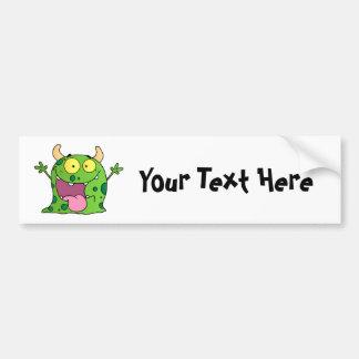 Green Monster (customizable) Bumper Sticker