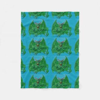 Green Monster Fleece Blanket