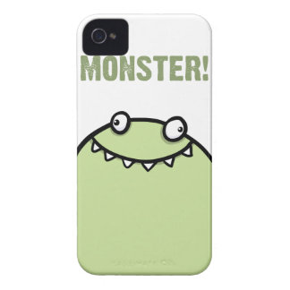 Green Monster Funny iPhone 4 Cover