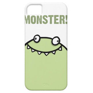 Green Monster Funny iPhone 5 Cover