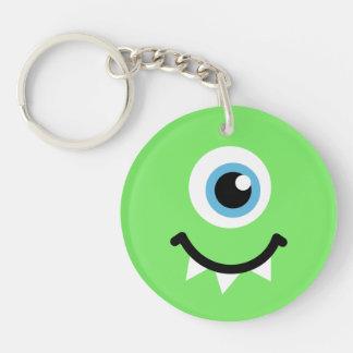 Green monster key ring