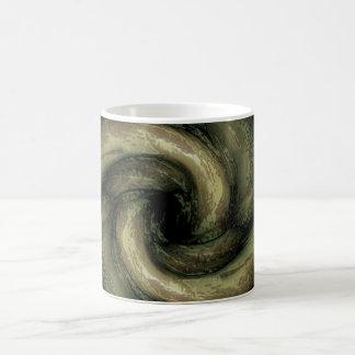 Green monster tentacles coffee mug