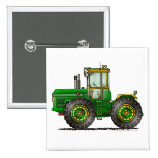 Green Monster Tractor Pins
