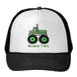 Green Monster Truck Trucker Hat