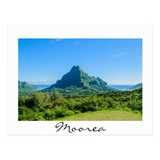 Green Moorea postcard