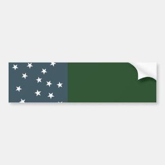 Green Mountain Boys and the Vermont Republic Flag Bumper Sticker