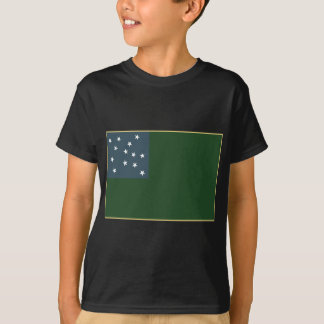 Green Mountain Boys and the Vermont Republic Flag T-Shirt