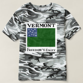 Green Mountain Boys Flag of the Vermont Republic T-Shirt