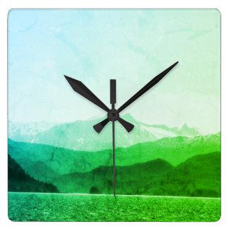 Green Mountains Clock