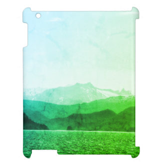 Green Mountains Ipad Case