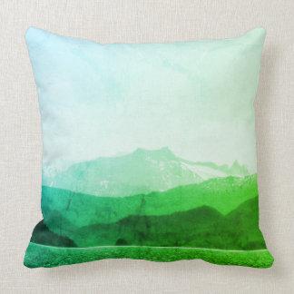 Green Mountains Pillow