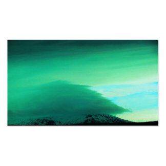 GREEN MOUTAIN CLOUD - ICELAND PACK OF STANDARD BUSINESS CARDS