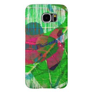 Green Multicolored Cover Samsung Galaxy S6 Cases