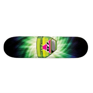 Green Nascar Skateboard Deck