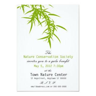Green Nature Benefit Invitation