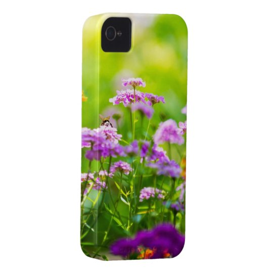 Green Nature Flower Cool iPhone 4 Cases