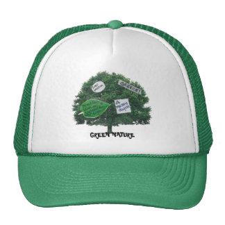 GREEN NATURE HAT