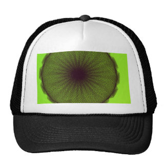 green nature mother nature hat