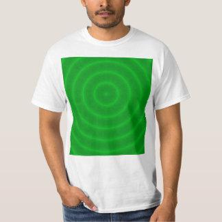 Green Neon Bullseye T Shirt