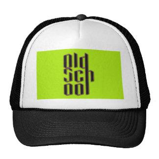 Green Neon Old School Trucker Hat