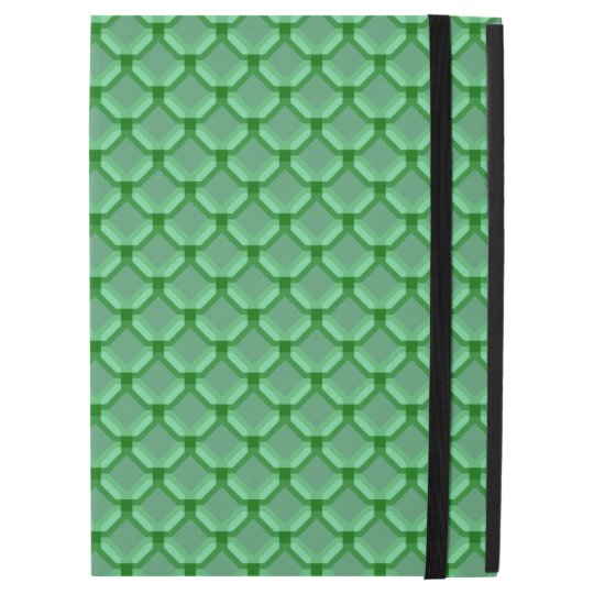 "Green Net, Mesh, or Chainmail Like Pattern iPad Pro 12.9"" Case"
