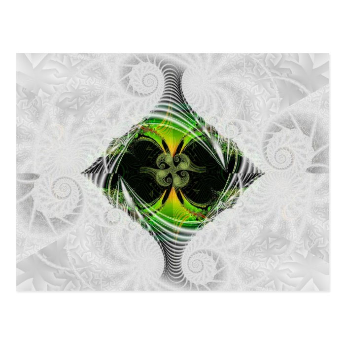Green Nirvana Postcard