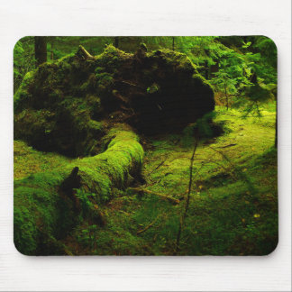 Green norway mouse mat