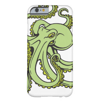 Green Octopus Barely There iPhone 6 Case