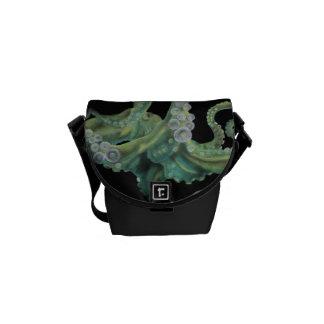 Green Octopus Commuter Bags