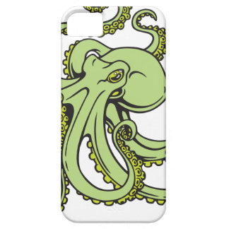 Green Octopus iPhone 5 Cover