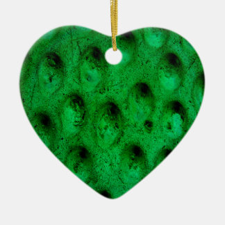 Green of Hearts Christmas Ornament