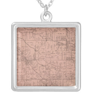 Green, Ohio Silver Plated Necklace