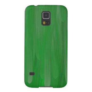 Green oil pattern galaxy s5 case
