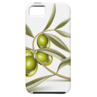Green olives branch iPhone 5 case