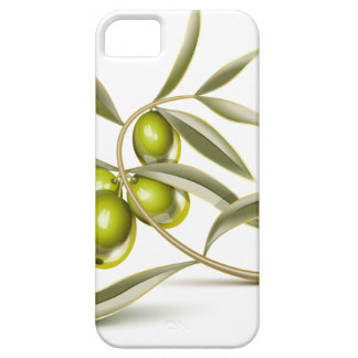 Green olives branch iPhone 5 cases