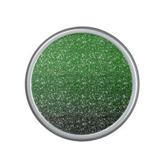 Green Ombre Glitter Effect Speaker