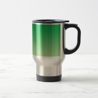 Green Ombre Stainless Steel Travel Mug