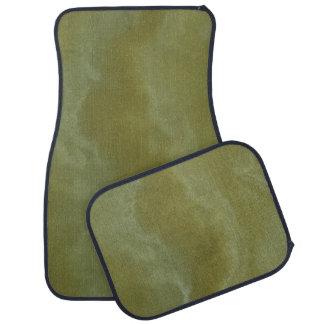 Green Onyx Stone Pattern Background Floor Mat