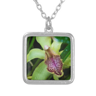 Green Orchid Necklace