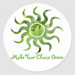 Green Our Earth Stickers