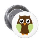 Green Owl Badge