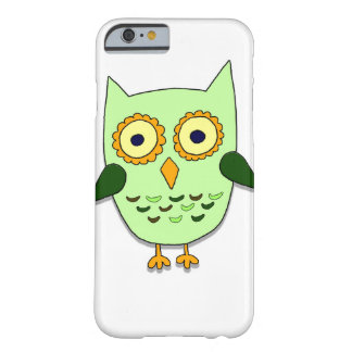 Green owl barely there iPhone 6 case