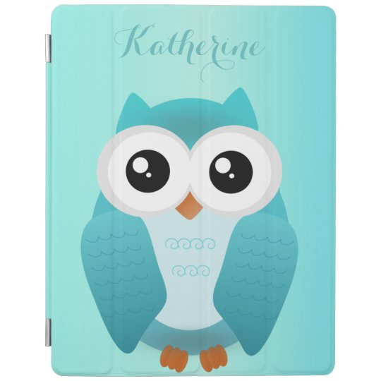 Green Owl ipad cover