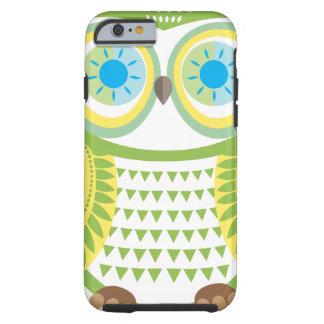Green Owl iPhone 6 case Tough iPhone 6 Case