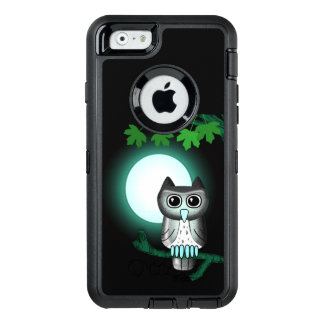 Green Owl OtterBox Defender iPhone Case