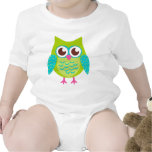 Green Owls Gift T Shirt