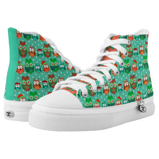 Green Owls Shoes