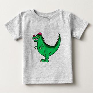 Green Pachycephalosaurus Baby T-Shirt
