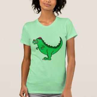Green Pachycephalosaurus T Shirt